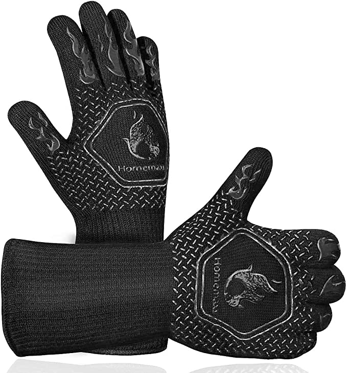 Homemaxs BBQ Grill Gloves - Best Design