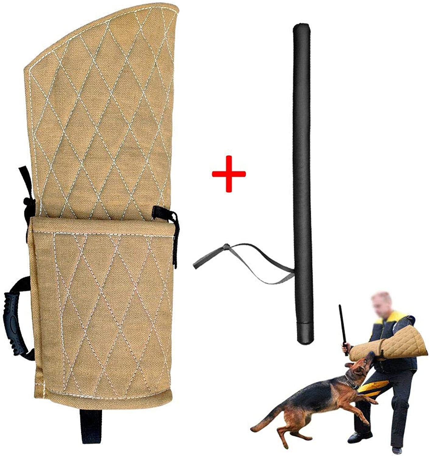 Dog Bite Sleeve for Puppy Young Dogs Training,fit Pitbull German Shepherd Puppy Biting Playing