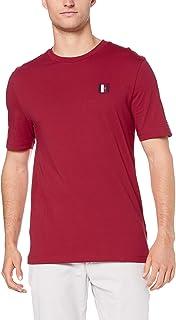 TOMMY HILFIGER Men's Monogram Patch Cotton T-Shirt