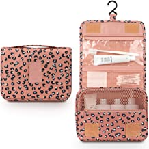 Mossio Hanging Toiletry Bag - Large Cosmetic Makeup Travel Organizer for Men & Women with Sturdy Hook