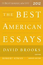 The Best American Essays 2012 (The Best American Series ®)