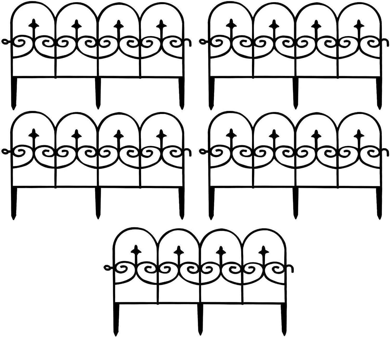 lvjian Max 83% OFF Garden Border Fence online shopping 5PCS Landscape