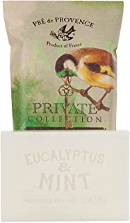 (Eucalyptus and Mint) - Pre' de Provence Private Collection Quad Milled French Soap Bar, Eucalyptus and Mint, 110 Gramme