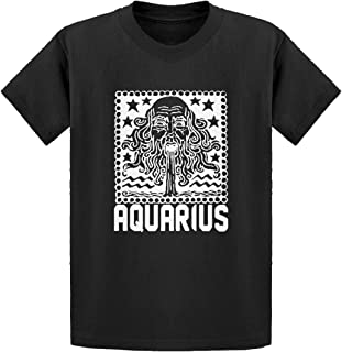 Aquarius Zodiac Astrology Kids T-Shirt