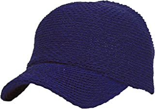 WITHMOONS Baseball Cap Summer Paperstraw Mesh for Men Women KR1960