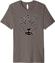 Leopard Jaguar Panther Big Cat Blue Eyes Women Men Kids Gift Premium T-Shirt