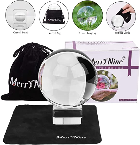 Photograph Crystal Ball With Stand And Pouch K9 Crystal Suncatchers Ball With Microfiber Pouch Decorative And Photography Accessory 60mm 2 36 Set K9 Clear
