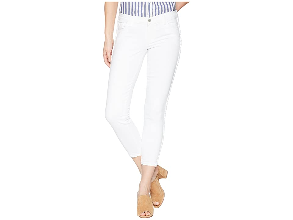 J Brand 9326 Low Rise Crop Skinny in Braided Blanc (Braided Blanc) Women's Jeans