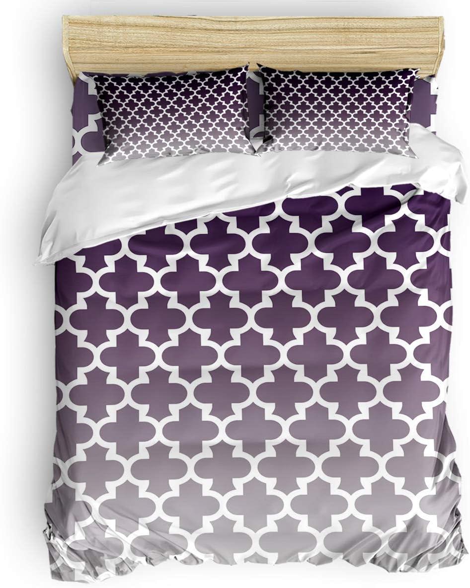 Prime Leader Duvet Cover Set Twin Gradient Ret Grey Size Purple Purchase Max 89% OFF