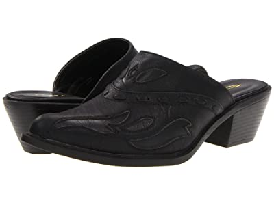 Roper Rockstar Interlace Mule (Black) Cowboy Boots
