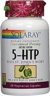 Solaray 5HTP, Plus St John's Wort, 30 Count