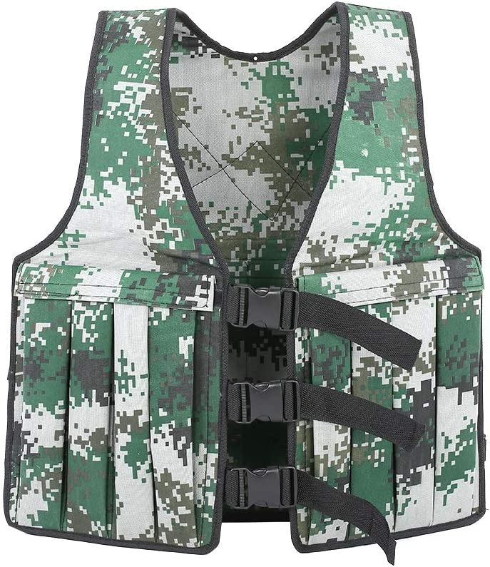 Ladieshow 20KG 44LBS Adjustable All items free shipping 55% OFF Weighted Train Vest Camouflage