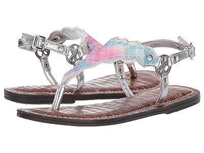 Sam Edelman Kids Gigi Scallop (Little Kid/Big Kid) (Silver) Girls Shoes