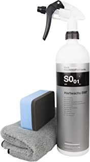 Koch Chemie Hartglanzwachs BMP im Set mit DFT Microfasertuch und Auftragspad
