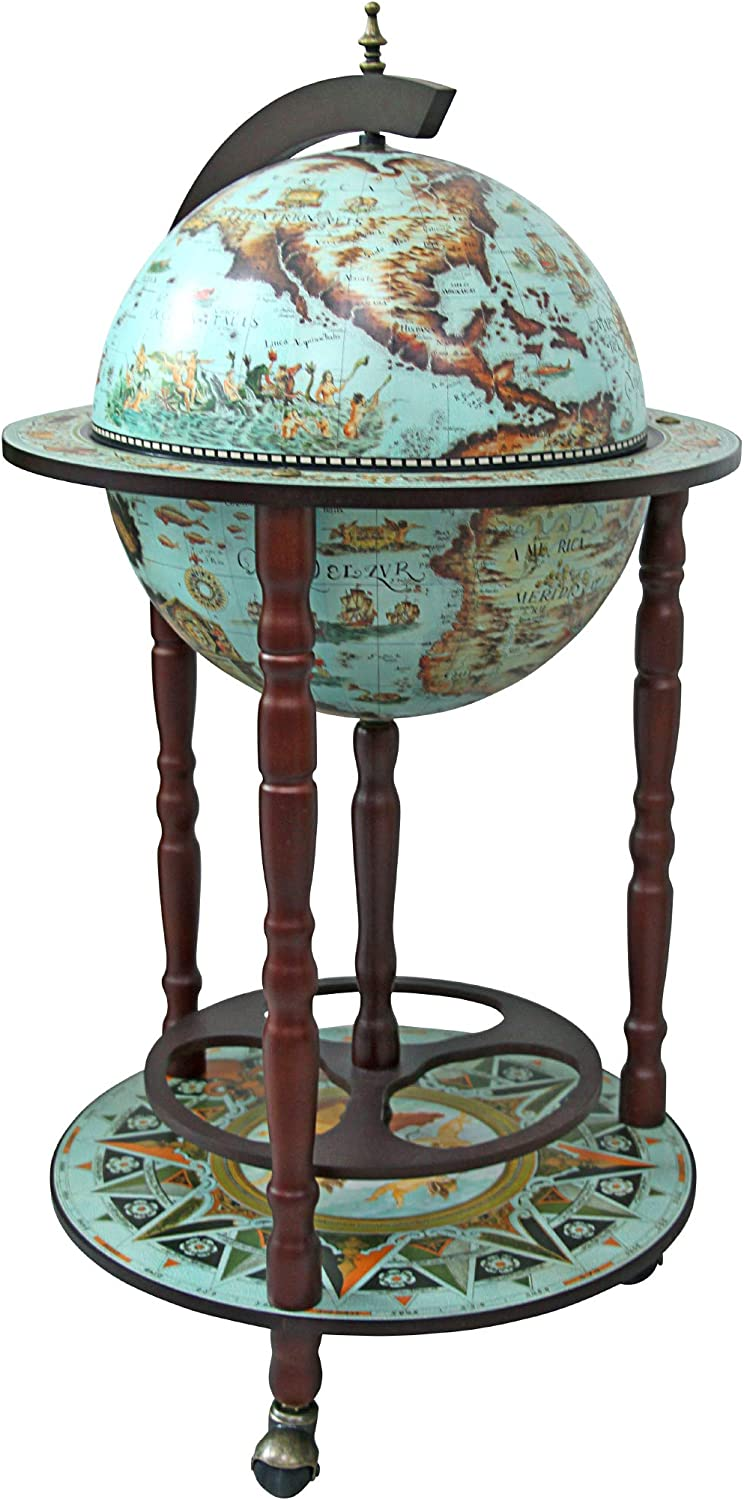 Design Toscano Sixteenth Century Replica Bar Challenge the Max 52% OFF lowest price of Japan Globe 36 Cabinet I