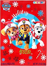 Paw Patrol 2019 Christmas Holiday Countdown Calendar with 24 Milk Chocolate, 1.76 oz, Pack of 2