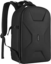 MOSISO Camera Backpack, DSLR/SLR/Mirrorless Photography Camera Bag 15-16 Inch Waterproof Hardshell Case with Tripod Holder&Laptop Compartment Compatible with Canon/Nikon/Sony/DJI Mavic Drone, Black
