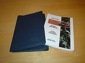 RANGE ROVER P38 OWNERS MANUAL HANDBOOK c/w WALLET (1995 - 2001) P38A - 4.0 & 4.6 LITRE V8 PETROL & 2.5L DIESEL TDI - OWNER'S HAND BOOK MANUAL