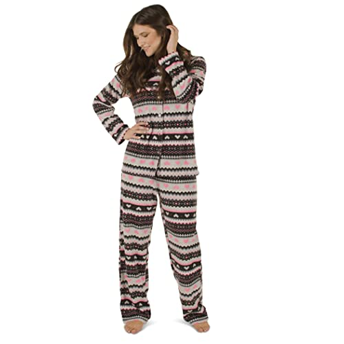 38e2872be3 Totally Pink Women s Warm and Cozy Plush Fleece Winter Pajama Set Teen and  Girls