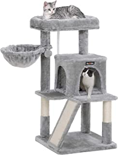 FEANDREA Cat Tree with Sisal-Covered Scratching Posts