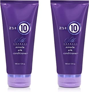 it's a 10 Haircare Silk Express Miracle Silk Conditioner, 5 fl. oz. (Pack of 2)