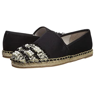 Circus by Sam Edelman Lane (Black Textured Woven Canvas/Pearl Boucle) Women