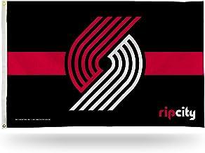 Rico Industries Portland Trail Blazers Black Striped Flag - 3 x 5 Foot Flag