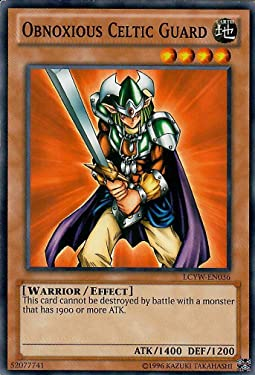 Yu-Gi-Oh! - Obnoxious Celtic Guard (CT1-EN006) - 2004 Collectors Tins - Limited Edition - Secret Rare