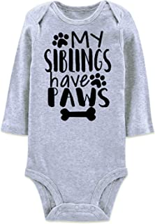 BFUSTYLE Baby Boys Girls Romper Bodysuit Infant Funny Jumpsuit Outfit 0-18M