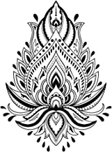 148 x 210 mm blanco Plantilla reutilizable 5.8 x 8.3 in. Tree of Life A5 size Plantilla reutilizable de PVC dise/ño de mandala tama/ño A3, A4, A5, con mandala celta, tama/ño grande
