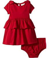 Kate Spade New York Kids - Peplum Waist Dress (Infant)