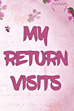 My Return Visits: | JW Organizer for Jehovah's Witnesses. Add this valuable JW Accessories to your JW Library. A PERFECT Jehovahs Witnesses Gift!