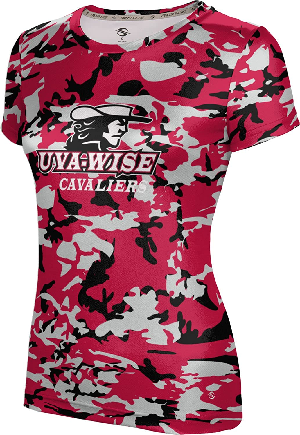 University of Virginia's College at Wise Girls' Performance T-Shirt (Camo)