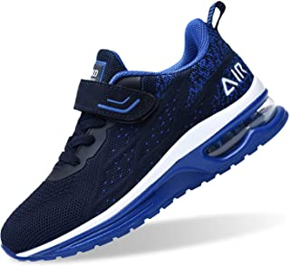 RomenSi Air Athletic Running Shoes for Boys Girls Lightweight Breathable Tennis Sports Kids Sneakers