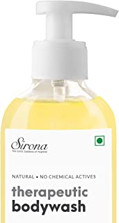 Sirona Natural Anti Fungal Therapeutic Body Wash - 200 ml | with 5 Magical Herbs - Help Reduce Body Odor, Itching, Promotes Healthy Feet, Skin and Nails