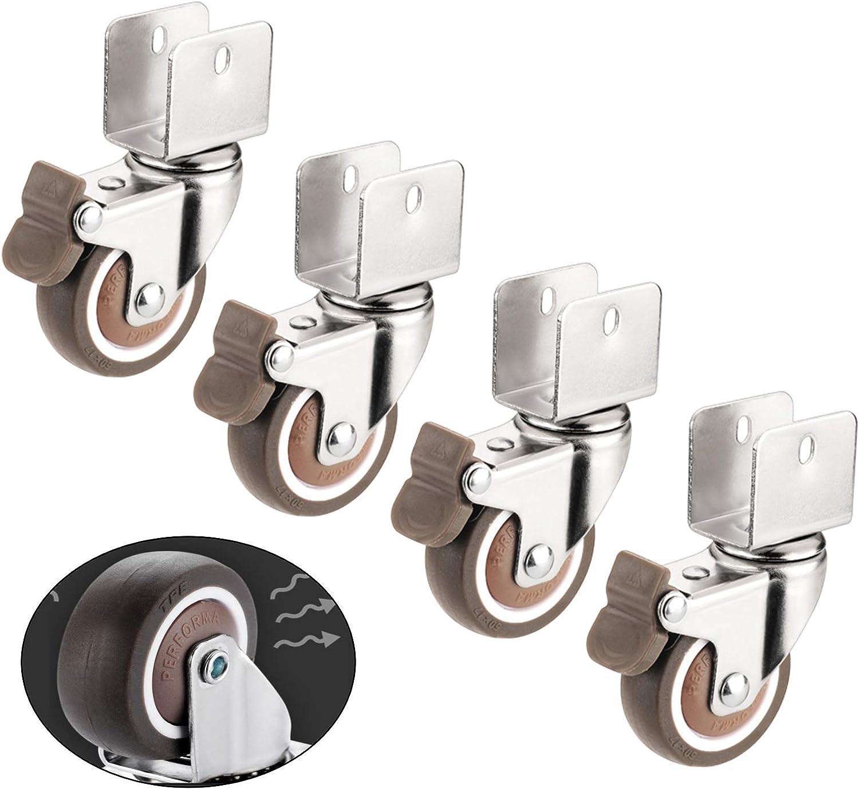 Filit 4X Castor Wheels Industria unisex Furniture Spare Indefinitely Casters
