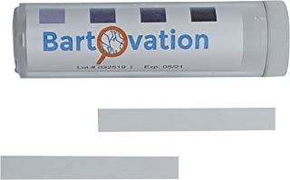 Restaurant Sanitizer Chlorine Test Paper, 10-200 ppm [Vial of 100 Paper Strips]
