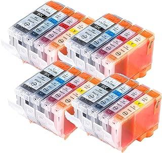 LiC-Store 16x (4 Big Black, 4 Cyan, 4 Magenta, 4 Yellow) Canon BCI-3 , BCI-3E , BCI-6 for Canon BJC-3000, BJC-6000, FAX-C855, MultiPASS F30, MultiPASS F50, MultiPASS F60, MultiPASS F80, MultiPASS MP70