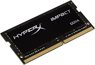 Kingston Technology HyperX Impact 16GB 2666MHz DDR4 CL15 260-Pin SODIMM Laptop Memory (HX426S15IB2/16)
