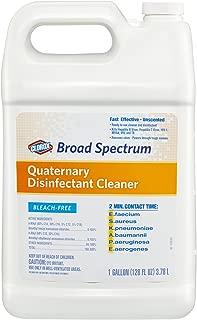 Clorox Broad Spectrum Quaternary Disinfectant Cleaner Refill, 128 Ounces