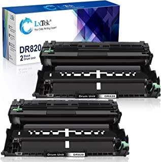LxTek Compatible Drum Unit Replacement for Brother DR820 DR-820 (2 Black, Super-High Yield 60,000 Pages)