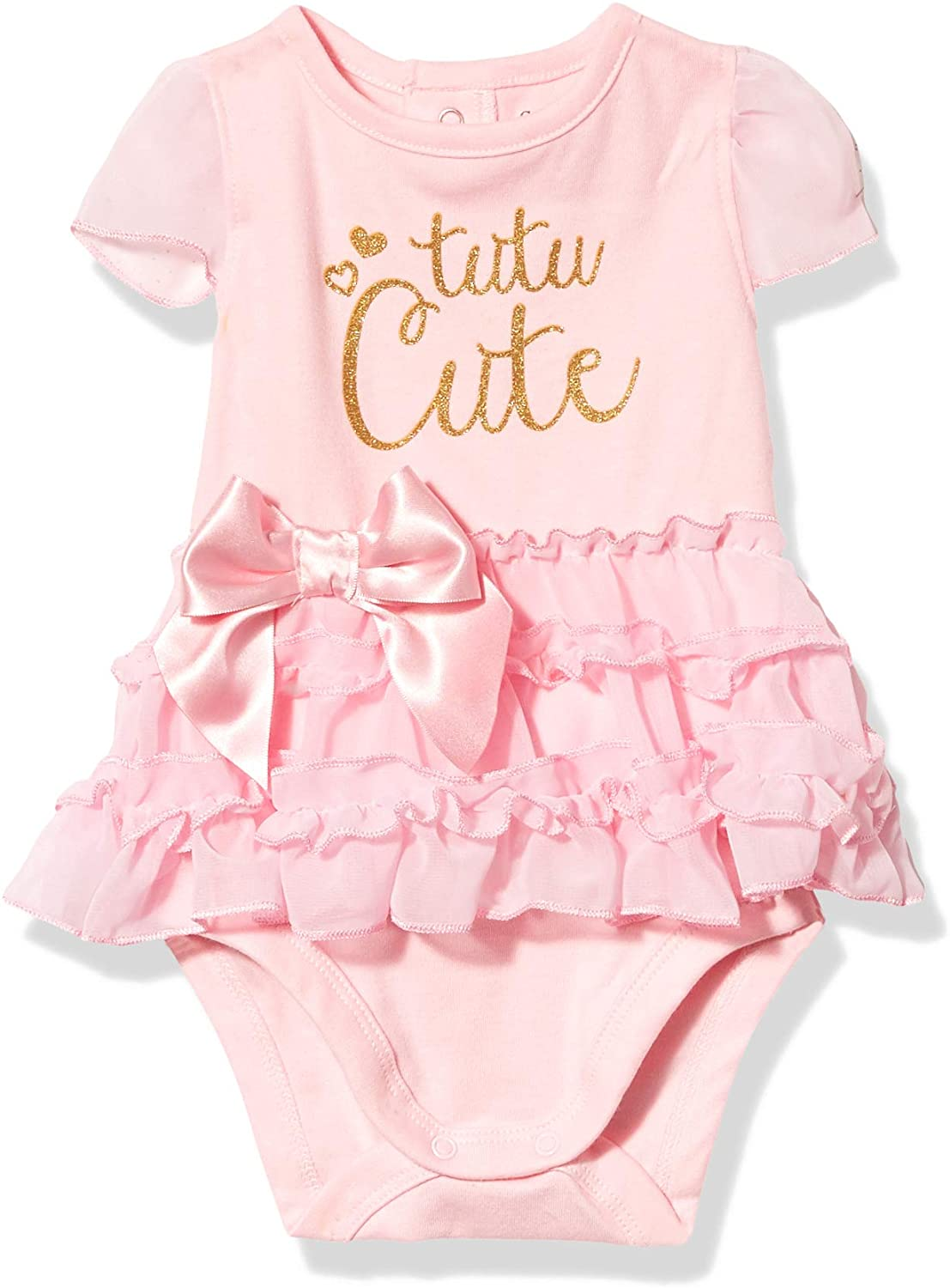 Gerber Baby Girls Bodysuit with Tutu Skirt