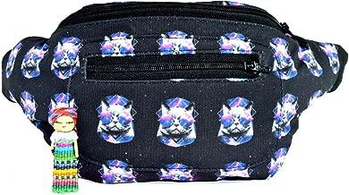 Galaxy Cat Fanny Pack, Boho Chic Handmade w/Hidden Pocket