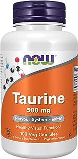 NOW 500Mg Taurina 100 Capsule - 100 g