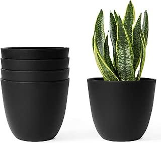 Best black plastic pots for plants Reviews