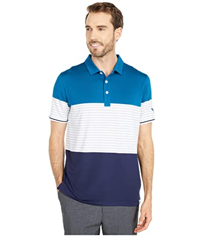 PUMA Golf Taylor Polo (Digi-Blue) Men
