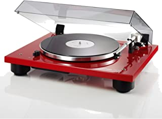 Thorens TD206 Gloss Red Turntable