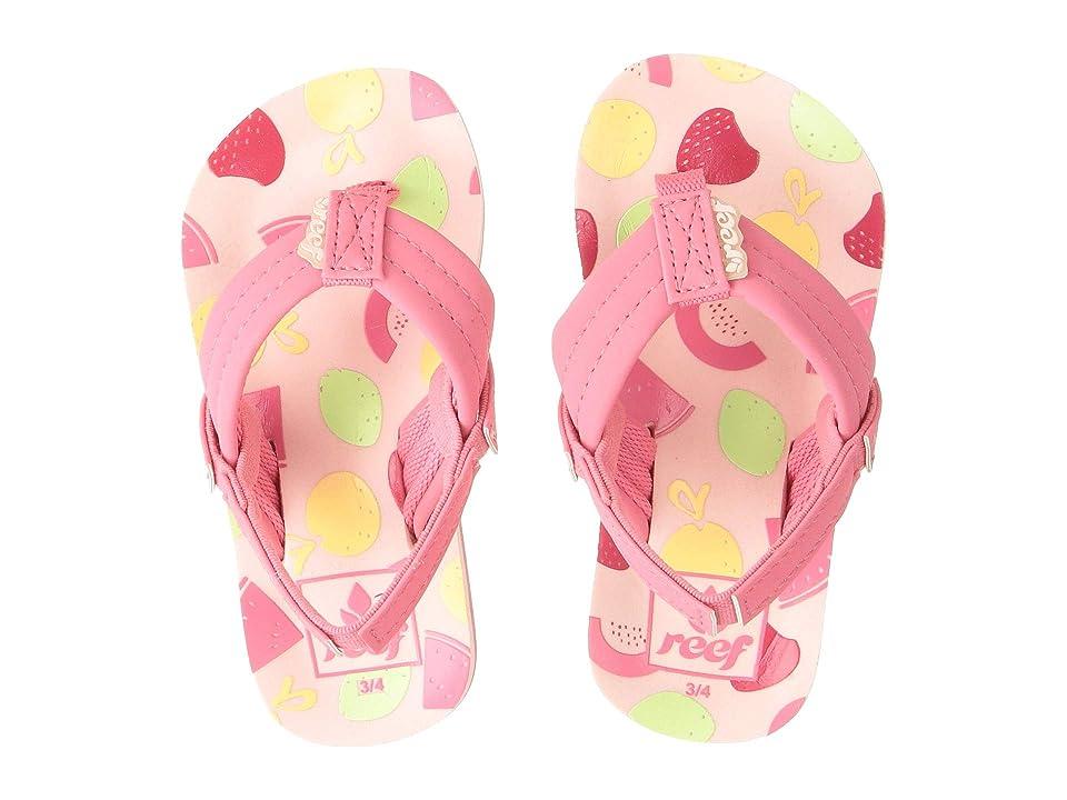 Reef Kids Little Ahi (Toddler/Little Kid) (Sorbet) Girls Shoes