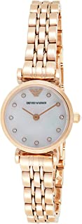 Emporio Armani Ladies Wrist Watch, Rose Gold AR11203