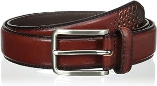 حزام Stacy Adams للرجال من الجلد اللامع 32 مم